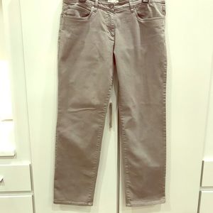 Eileen Fisher Gray Straight Leg Jeans Size Large